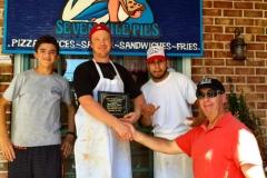 Seven Mile Pies wins best Plain Pizza in Stone Harbor