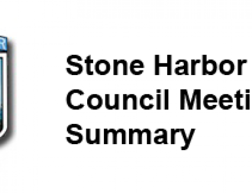 Stone Harbor Council Meeting Summary for January  5, 2021